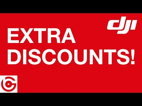 WINNERS Announced – More DJI DISCOUNT COUPONS Available!