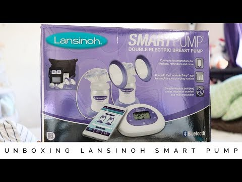 How To Get A FREE Breast Pump With Aeroflow | Unboxing Lansinoh Smart Pump | Tabitha Peralta