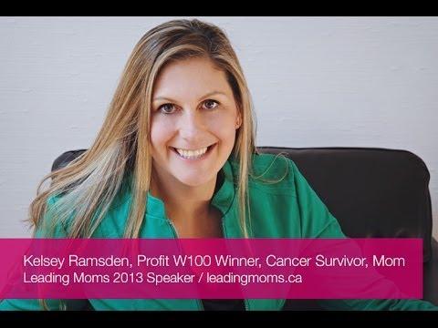 Kelsey Ramsden at Leading Moms 2013