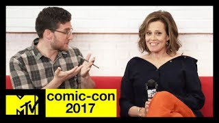 'The Defenders' Cast (Sigourney Weaver, Mike Colter, & More) On Their New Show | Comic-Con 2017