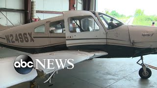 Teen pilot lands plane safely after losing wheel just after takeoff