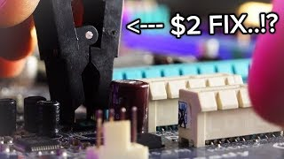 Can a $2 8-SOIC Clip Fix a BROKEN Motherboard...!?