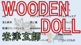 【ピアノ】WOODEN DOLL / 米津玄師(打ち込み)