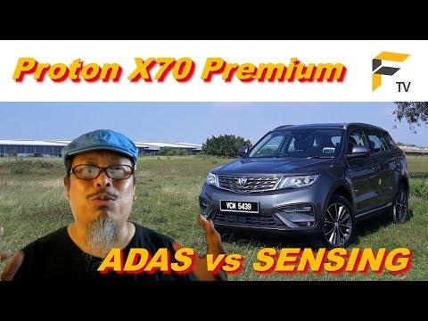 Proton X70 - ADAS & SENSING kurangkan 'road bully'?