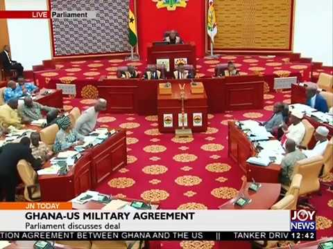 Ghana-US Military Agreement - Joy News Today (23-3-18)