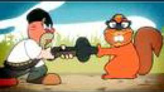 Mythbusters: The Mythtoons (Finger in a Barrel Myth)
