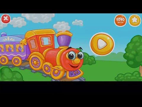 Мультики про поезда для детей - Веселые паровозики