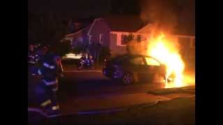 Maywood,nj Fire Department Car Fire