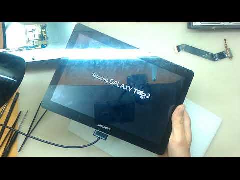 Планшет Samsung Tab 2GT P5100. Не включается и не заряжается.  Ремонт