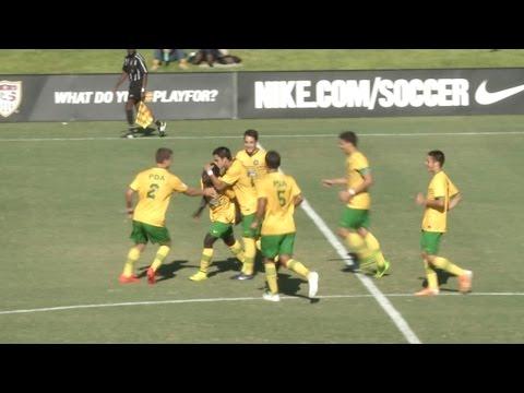 PDA vs. FC Dallas: U-17/18 Highlights - July 17, 2014