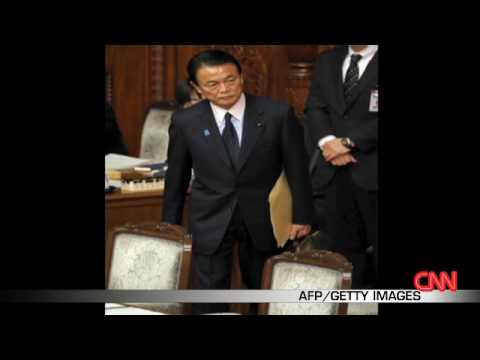 Japan's finance minister quits