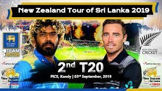 2nd T20 : New Zealand tour of Sri Lanka 2019