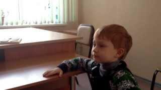 видео как научить ребенка говорить букву