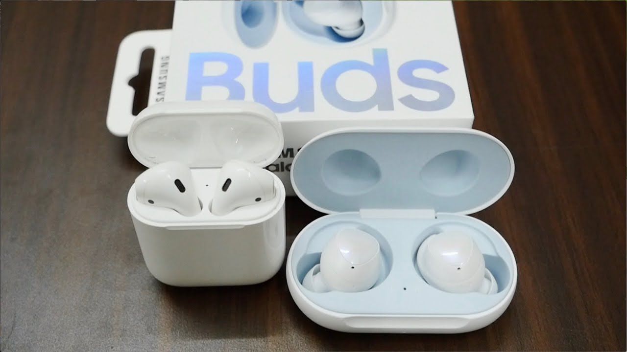 6daff3ffa86 Samsung Galaxy Buds vs Apple AirPods Review - YouTube