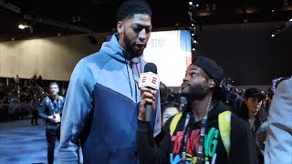 King Bach takes over NBA All-Star media availability | ESPN
