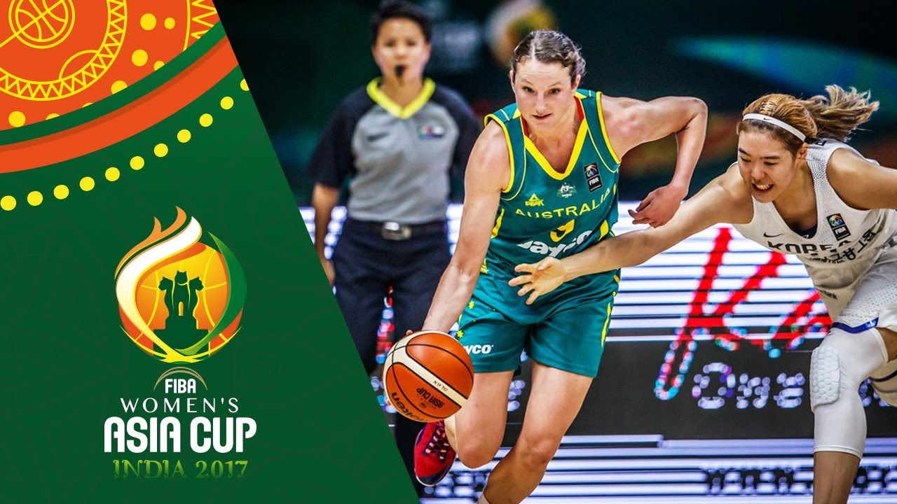 Korea v Australia - Highlights - Semi-Finals - FIBA Women's Asia Cup 2017