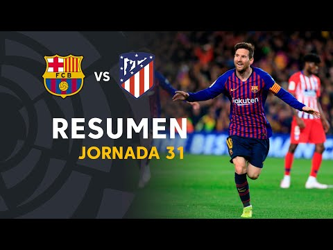 Highlights FC Barcelona vs Atlético de Madrid (2-0)