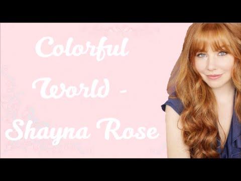 Colorful World - Shayna Rose (Lyrics) [From Disney's Bad Hair Day]