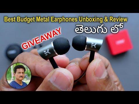 best-budget-metal-earphones-unboxing-&-review-in-telugu...