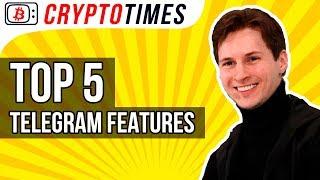 📱Top 5 Telegram messenger features / Telegram APP review