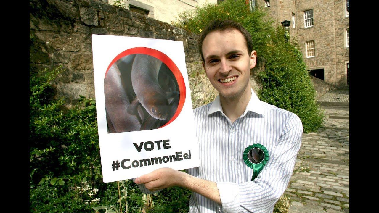Ugly animal vote - European common eel (Rob Wells) - YouTube