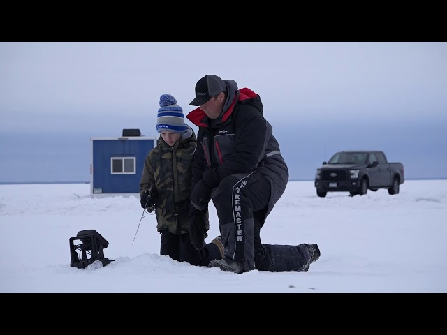 Wrapping Up the Walleye Season on Lake Mille Lacs - February 2020