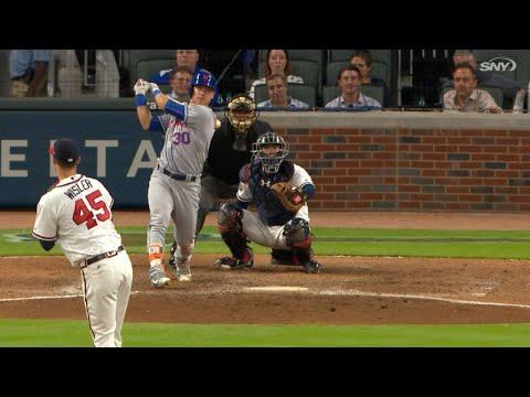 NYM@ATL: Mets push 16 runners across in win