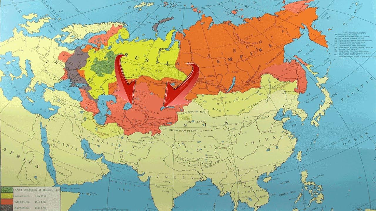 Osiyo va Rossiya imperiyasi urushi.