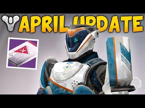 Destiny: WAS THE APRIL UPDATE GOOD? Loot Rewards, Vanguard & Crucible Review