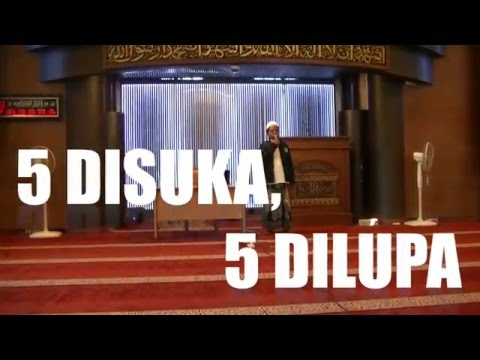 5 DISUKA & 5 DILUPA BERSAMA PROF.HAMDANI ANWAR