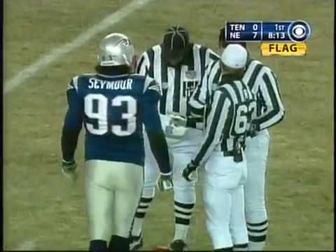 2003 AFC Divisional Playoff Game: Patriots vs Titans