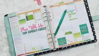 Plan With Me: Erin Condren Hourly Life Planner