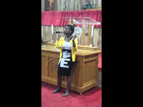 Cimiya singing Jekalyn Carr's