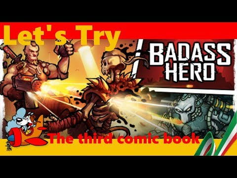 Let's Try Badass Hero [Gameplay ITA] The third comic book – The Last Stand of Earth
