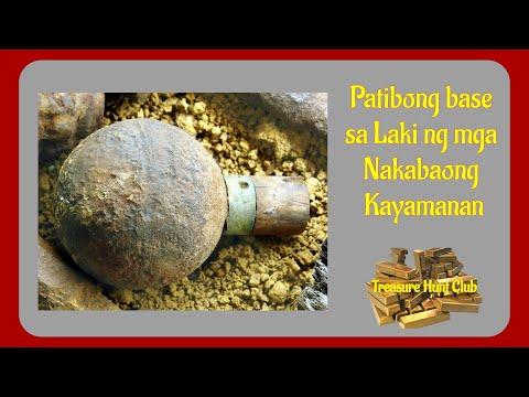 Patibong base sa Laki ng mga Nakabaong Kayamanan   Yamashita Treasures