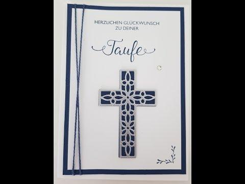Anleitung: Karte zur Taufe