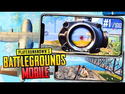 PUBG MOBILE: ЭТО ШИКАРНО! ТОП-1 НА IPHONE 10❌PLAYERUNKNOWN'S