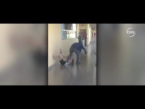 Niño fue agredido por compañero en colegio de San Ramón | CHV NOTICIAS
