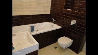 Укладка плитки на стены и пол. Ремонт туалета под ключ.