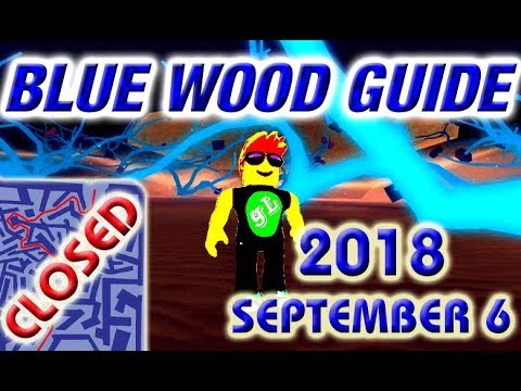 Lumber Tycoon 2 - BLUE WOOD - Maze Road Map - 2018 September 6
