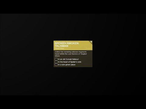 Broken Awoken Talisman Locations  