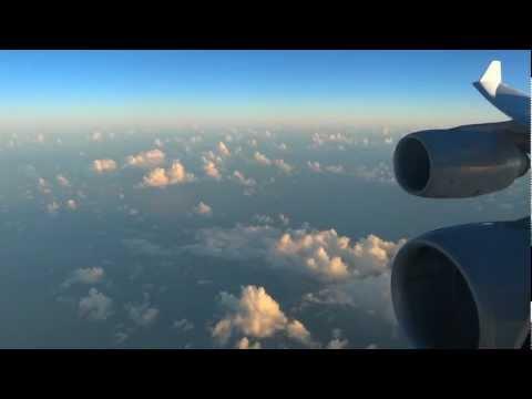 Lufthansa Airbus A340-600 - fantastic flight from Sao Paulo to Munich