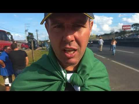 Manifestação dos caminhoneiros , Campo Santana, Curitiba povo nas Ruas