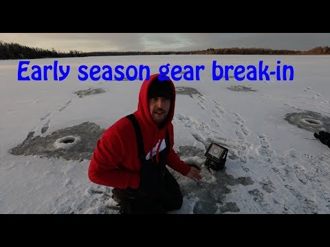 Duluth, MN Panfish - Gear Break-in For The 2018-2019 Ice Season