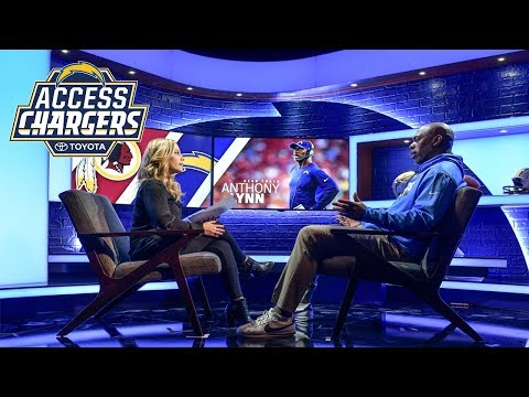 Access Chargers: Chargers Host the Washington Redskins
