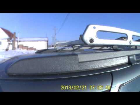 Багажник на Lada Kalina