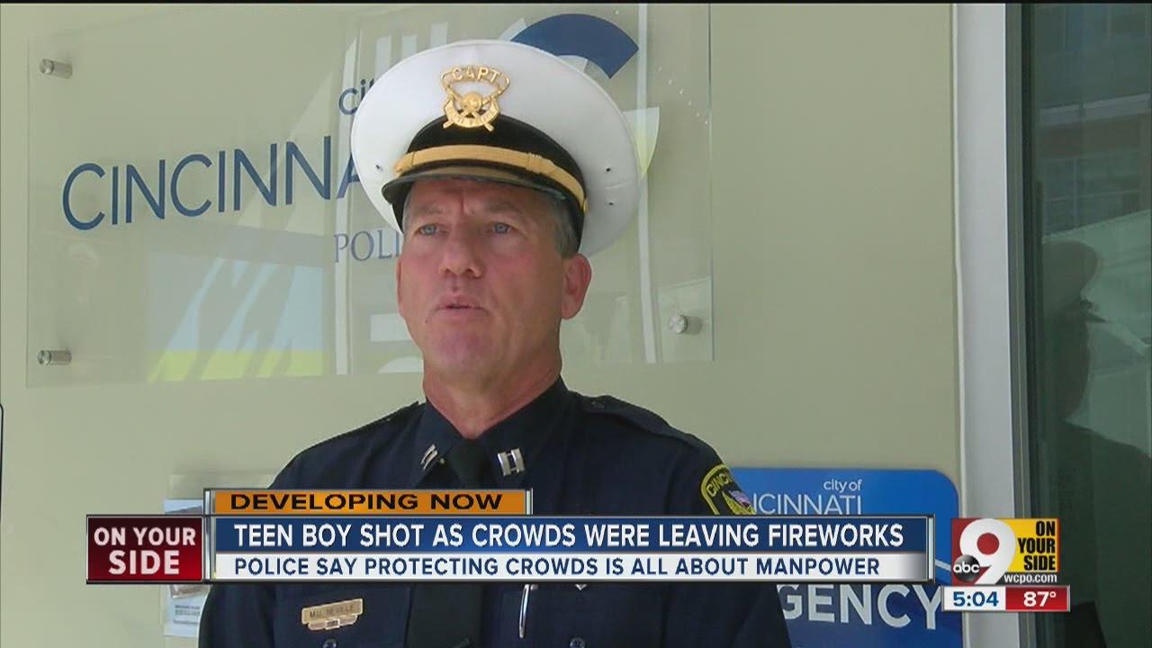 Cincinnati police: Shooting near Riverfest was an isolated incident