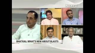 Dr Subramanian Swamy takes on Barkha Dutt over terrorism and religion