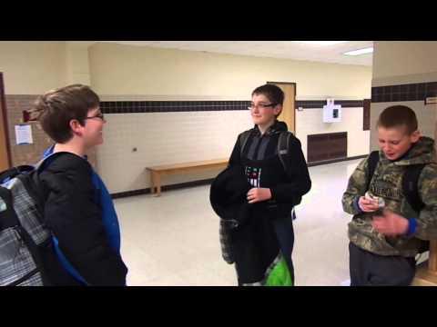 American boy speaks Kyrgyz language