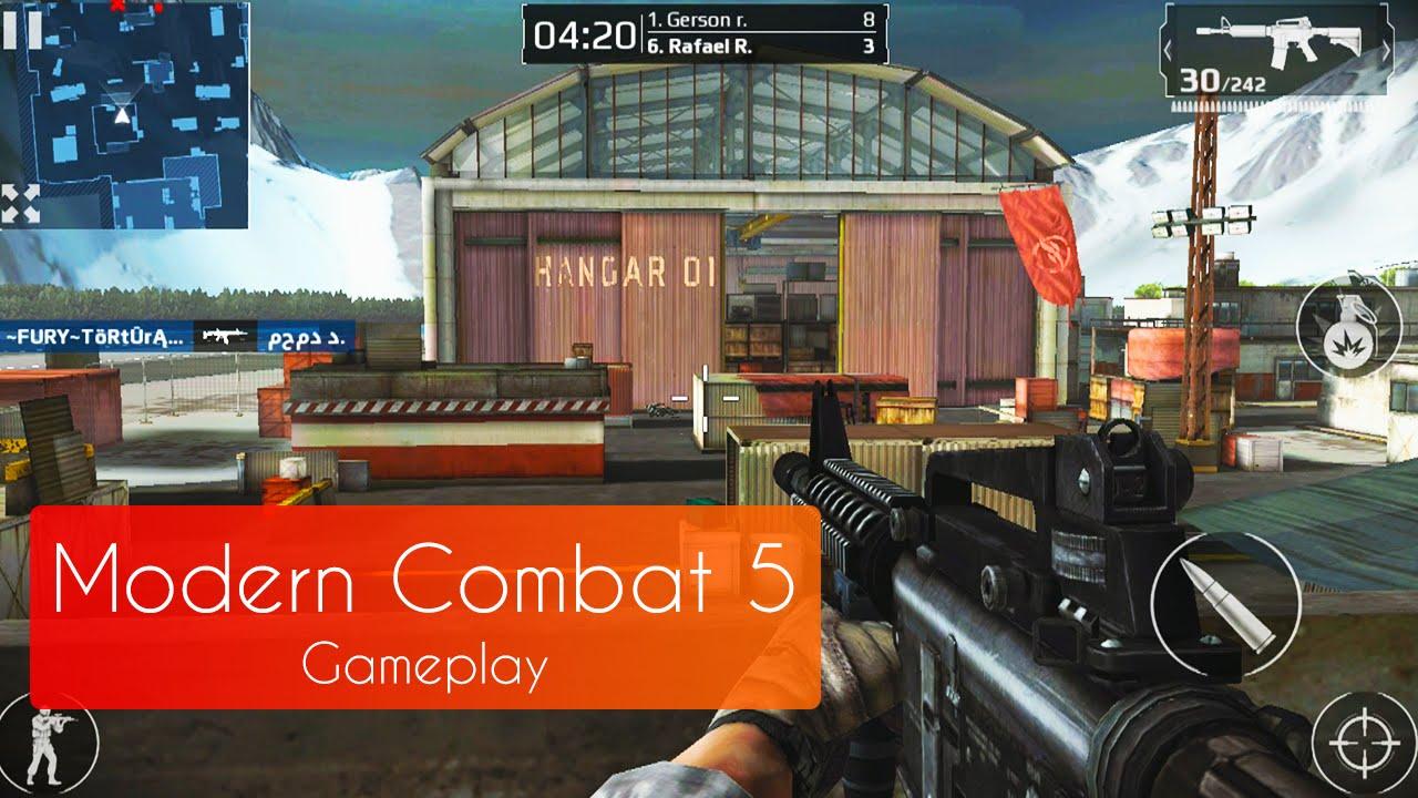Modern Combat 5 [Multiplayer] - Os nossos Gameplays ESTÃO DE VOLTA!